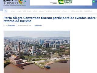 Porto Alegre Convention Bureau participará de eventos sobre retorno do turismo