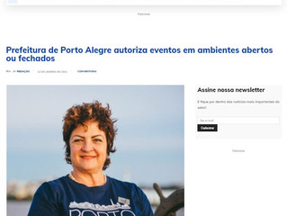 Prefeitura de Porto Alegre autoriza eventos em ambientes abertos ou fechados