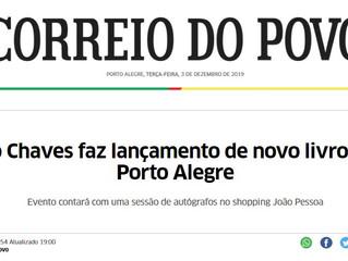 Leo Chaves faz lançamento de novo livro em Porto Alegre