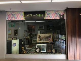 Shopping João Pessoa promove a exposição Arte para Todos