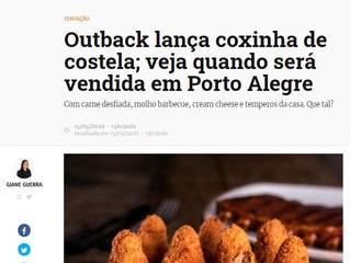 Outback lança coxinha de costela; veja quando será vendida em Porto Alegre