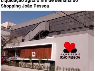 Liquidação agita o fim de semana do Shopping João Pessoa