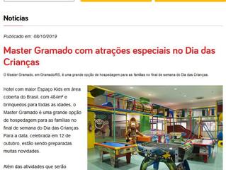 Master Gramado com atrações especiais no Dia das Crianças
