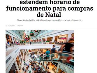 Shoppings da Capital e Região Metropolitana estendem horário de funcionamento para compras de Natal