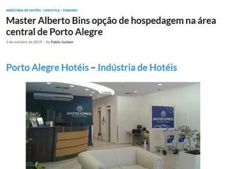 Master Alberto Bins é opção de hospedagem na área central de Porto Alegre