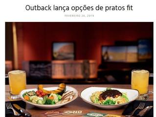 Outback lança opções de pratos fit