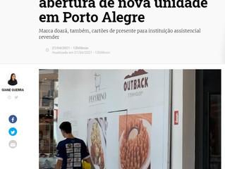 Restaurante de comida australiana Outback marca abertura de nova unidade em Porto Alegre
