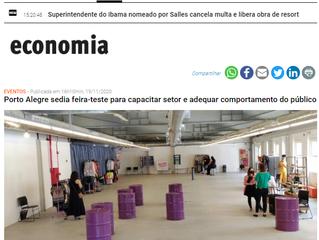 Porto Alegre sedia feira-teste para capacitar setor e adequar comportamento do público