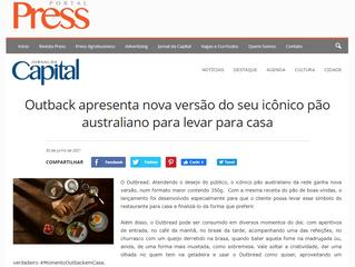 Outback apresenta nova versão do seu icônico pão australiano para levar para casa
