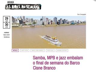 Samba, MPB e jazz embalam o final de semana do Barco Cisne Branco
