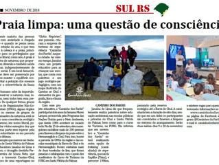 Praia limpa: uma questão de consciência