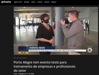 Porto Alegre tem evento-teste para treinamento de empresas e profissionais do setor