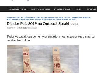 Dia dos Pais 2019 no Outback Steakhouse
