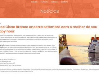 Barco Cisne Branco encerra setembro com o melhor do seu happy hour