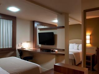 Holiday Inn Porto Alegre oferece ambientes especiais para receber times de futebol