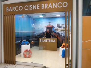 Cisne Branco inaugura novo stand de informações e venda de ingressos