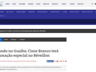Singrando no Guaíba: Cisne Branco terá programação especial no Réveillon