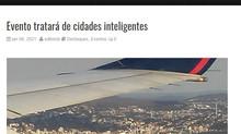 Evento tratará de cidades inteligentes