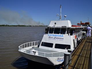 Grupo Cisne Branco suspende operação do Catamarã Bela Catarina