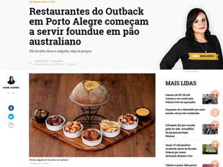 Restaurantes do Outback em Porto Alegre começam a servir fondue em pão australiano