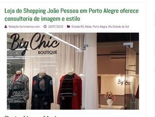 Loja do Shopping João Pessoa em Porto Alegre oferece consultoria de imagem e estilo