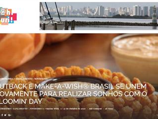 OUTBACK E MAKE-A-WISH® BRASIL SE UNEM NOVAMENTE PARA REALIZAR SONHOS COM O BLOOMIN' DAY