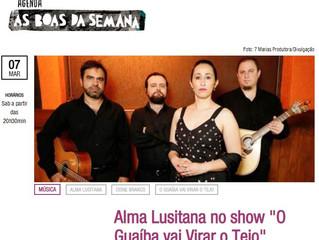 """Alma Lusitana no show """"O Guaíba vai Virar o Tejo"""""""