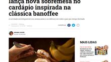 Famosa rede de restaurantes lança nova sobremesa no cardápio inspirada na clássica banoffee