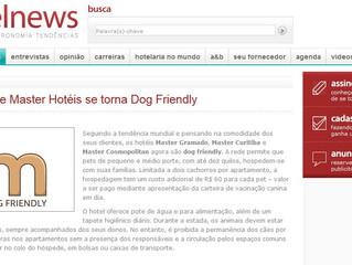 Rede Master Hotéis se torna Dog Friendly