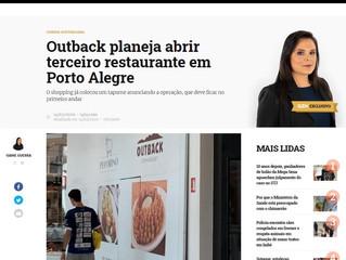 Outback planeja abrir terceiro restaurante em Porto Alegre