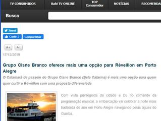 Grupo Cisne Branco oferece mais uma opção para Réveillon em Porto Alegre