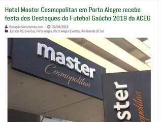 Hotel Master Cosmopolitan em Porto Alegre recebe festa dos Destaques do Futebol Gaúcho 2019 da ACEG