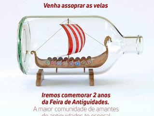 Feira de Antiguidades completa dois anos no Shopping João Pessoa
