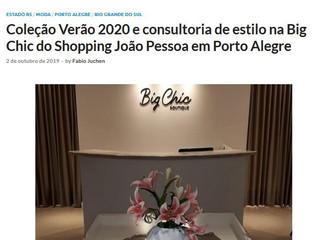 Coleção Verão 2020 e consultoria de estilo na Big Chic do Shopping João Pessoa em Porto Alegre
