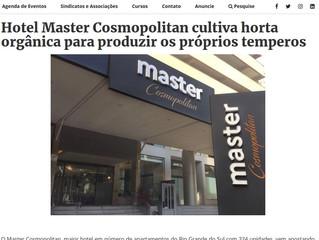 Hotel Master Cosmopolitan cultiva horta orgânica para produzir os próprios temperos