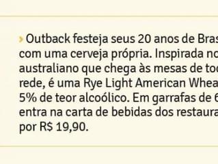 Outback comemora 20 anos de Brasil