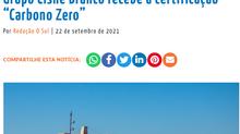 """De forma pioneira no Rio Grande do Sul, Grupo Cisne Branco recebe a certificação """"Carbono Zero"""""""