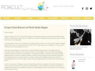 Grupo Cisne Branco no Porto Verão Alegre