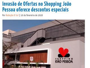 Invasão de Ofertas no Shopping João Pessoa oferece descontos especiais