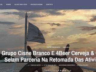 Grupo Cisne Branco E 4Beer Cerveja & Cultura Selam Parceria Na Retomada Das Atividades