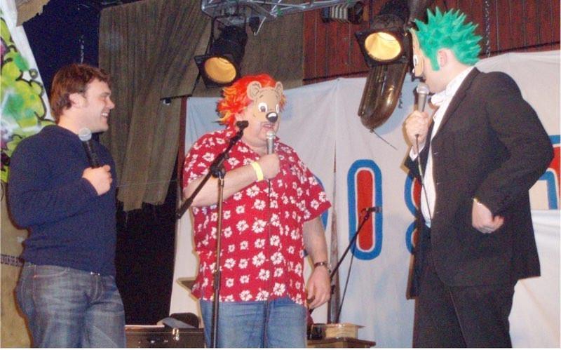 John, Tim and Dan