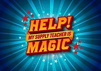 Help My Supply Teacher Is Magic logo