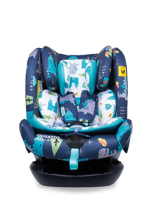 All in All Plus Group 0+123 Car Seat Dragon Kingdom (5PP)