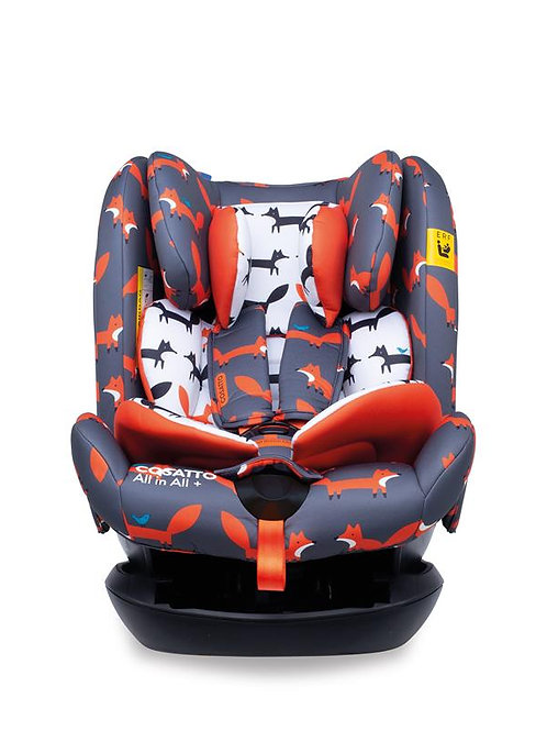 All in All Plus Group 0+123 Car Seat Mister Fox (5PP)