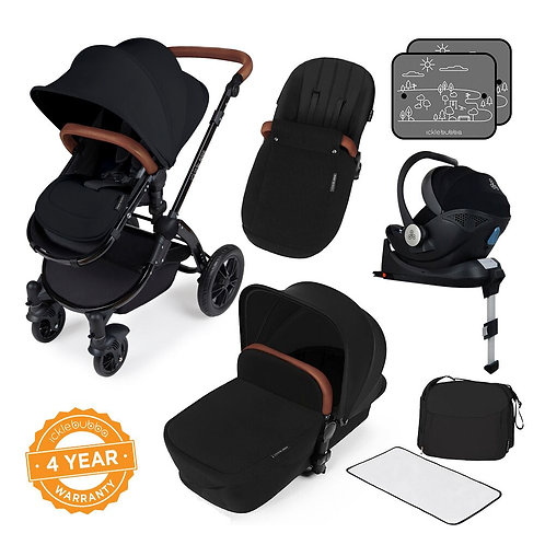 Stomp V3 i-SizeAll-in-One With Isofix Base