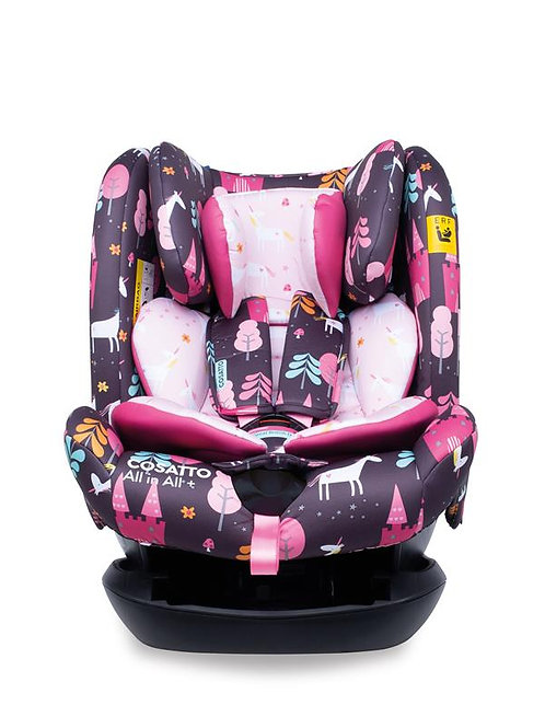 All in All Plus Group 0+123 Car Seat Unicorn Land (5PP)