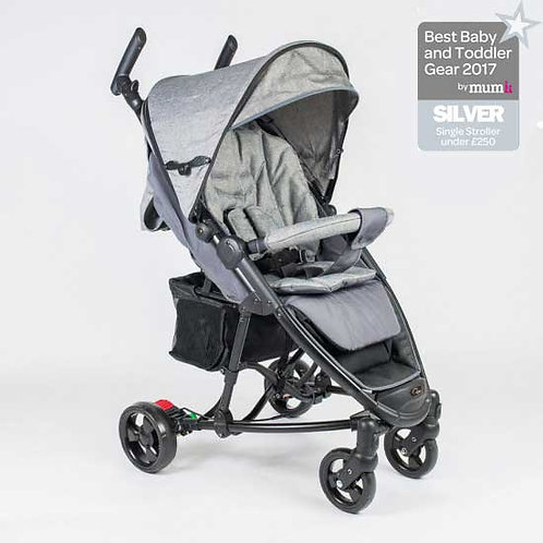 Roma Rizzo Pushchair - grey