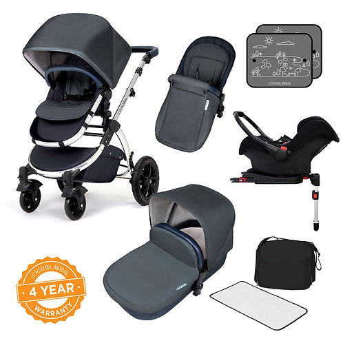 Ickle Bubba Stomp V4 Special Edition All- in -One With Isofix Base