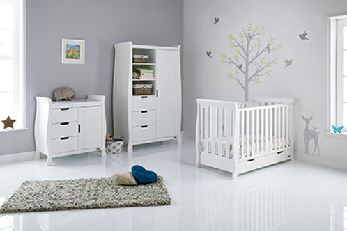 STAMFORD MINI COT BED 3 PIECE ROOM SET