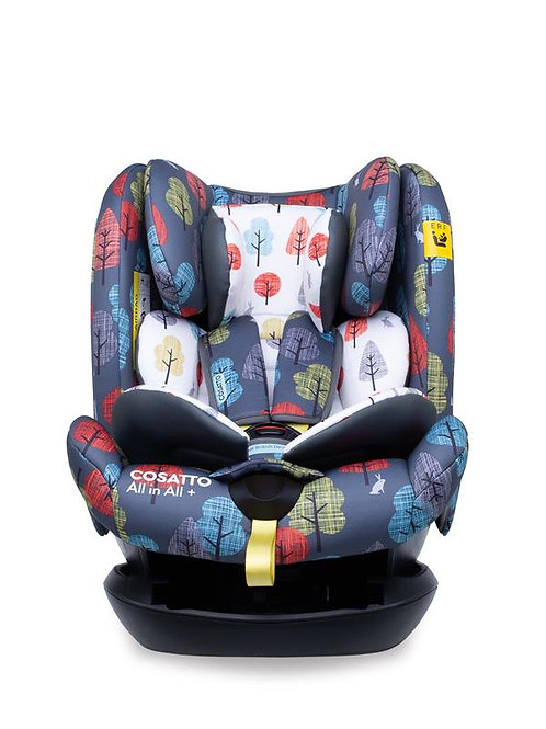 All in All + Group 0+123 Car Seat Hare Wood (5PP)